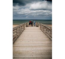 Beach landscape Photographic Print