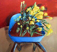 Spring At Vikingsholm by Amy-Elyse Neer