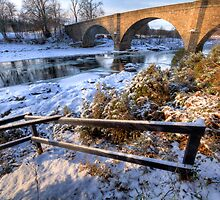 Ice on the river Dee by Darroch