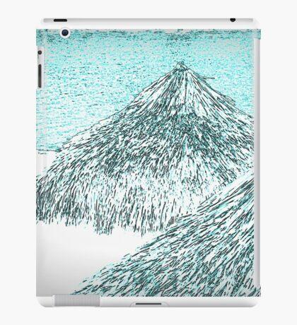 white tropical beach iPad Case/Skin
