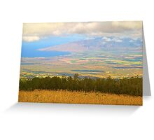 On the Road to Haleakala Greeting Card