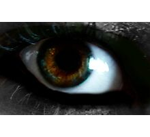 Beauty's in the eye of the beholder. Photographic Print