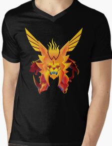 The KING of Beasts Mens V-Neck T-Shirt