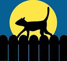 A Cat in a Long Dark Night by MattDC