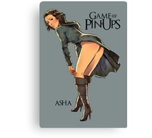 Asha Greyjoy Canvas Print