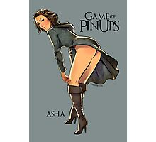 Asha Greyjoy Photographic Print