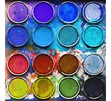Paintbox Palette Photographic Print