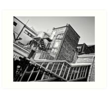 Upton Park Tube Station Art Print