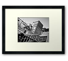 Upton Park Tube Station Framed Print