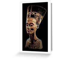 Bust of Nefertiti  the Great Royal Wife Greeting Card