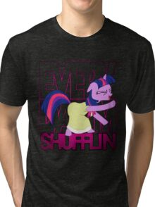 Twilight Sparkle LMFAO Shufflin' Tri-blend T-Shirt