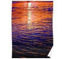 Sunset on the Nerang River Poster