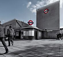 Wanstead Tube Station by AntSmith