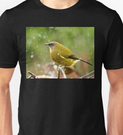 A Chilly Breeze - Bellbird NZ Unisex T-Shirt