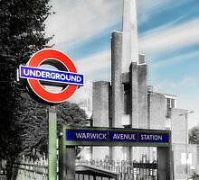 Warwick Avenue Tube Station by AntSmith