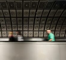 Waterloo Tube Station by AntSmith