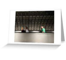 Waterloo Tube Station Greeting Card