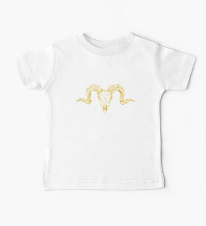 Gold for the Skull Baby Tee