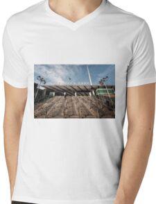 Wembley Park Tube Station Mens V-Neck T-Shirt