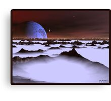 Ice Plain 3 Canvas Print