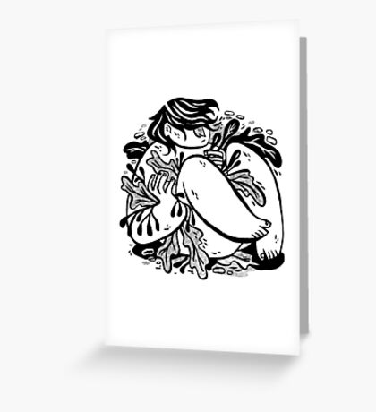 Seaweed Greeting Card