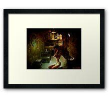 Room 212. Framed Print