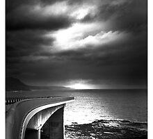 Sea Cliff Bridge 'Dark Days' by damienlee