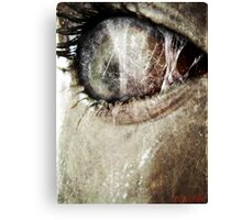 The Price of Peeping. Canvas Print
