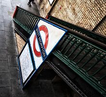 West Brompton Tube Station by AntSmith