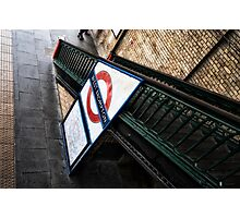 West Brompton Tube Station Photographic Print