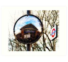 West Finchley Tube Station Art Print