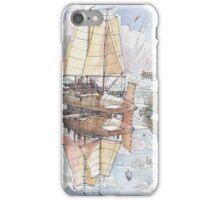 Il Veliero Volante e la Citta' Mongolfiera iPhone Case/Skin