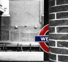 West Ham Tube Station by AntSmith