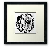 cards Framed Print