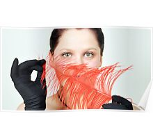 Red Feather Restraint Poster