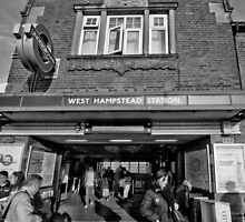 West Hampstead Tube Station by AntSmith