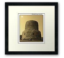 Dhamekh Stupa Framed Print