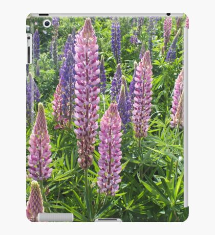 I'm Loopy For Lupins. iPad Case/Skin