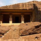 Kanheri Cave Dwelling by Nickolay Stanev