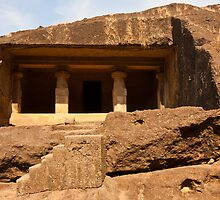 Kanheri Cave Dwelling by Nickolay Stanev