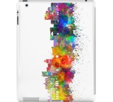 Belem skyline in watercolor background iPad Case/Skin
