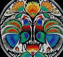 roosters by suzi krawczyk