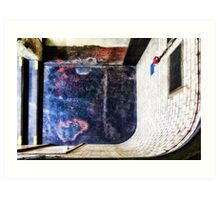 Whitechapel Tube Station Art Print