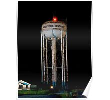Jamestown Water Tower Poster