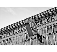Willesden Green Tube Station Photographic Print