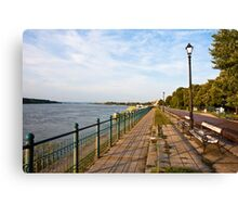 Vidin Riverwalk Canvas Print