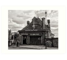 Wimbledon Park Tube Station Art Print