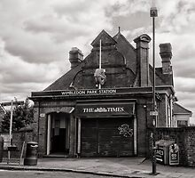 Wimbledon Park Tube Station by AntSmith