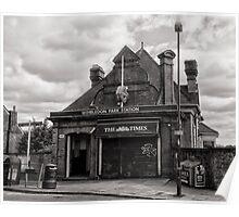 Wimbledon Park Tube Station Poster
