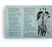 Internal Voice Canvas Print